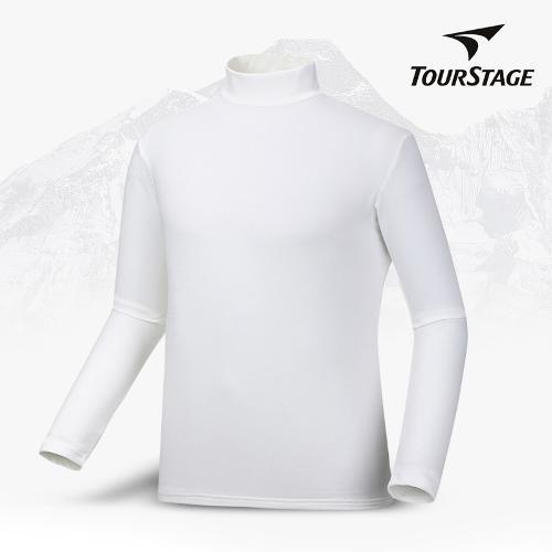 투어스테이지 남성 하프넥 기모 이너 티셔츠 QTMF1F