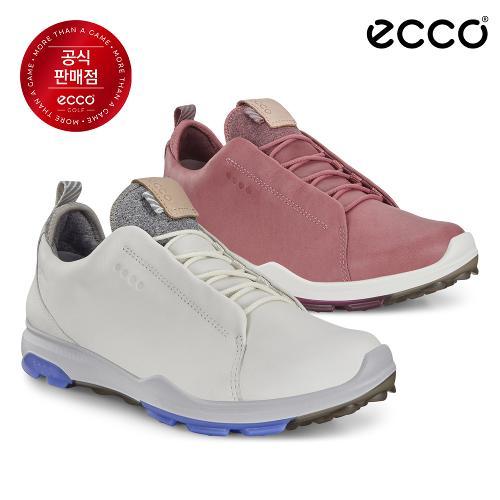 [에코코리아 정품] 바이옴 하이브리드 3 2.0 여성 골프화_125523_신발주머니 포함