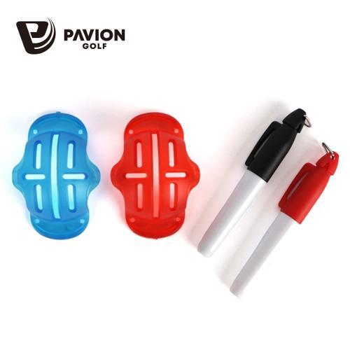 PV 골프공 삼선 소형볼라이너 전용펜세트