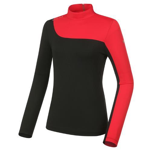 [와이드앵글] 여성 WL 엔젤 하이넥 긴팔 티셔츠 L WWP21203Z1