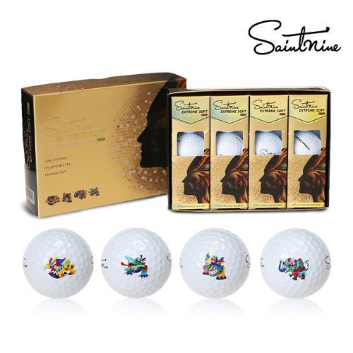 세인트나인 익스트림 소프트 골드(ES-GOLD) 골프볼(4피스)