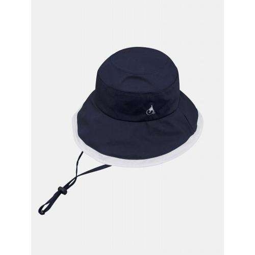 [빈폴골프] 여성 네이비 배색 벙거지 (BJ118BA02R)