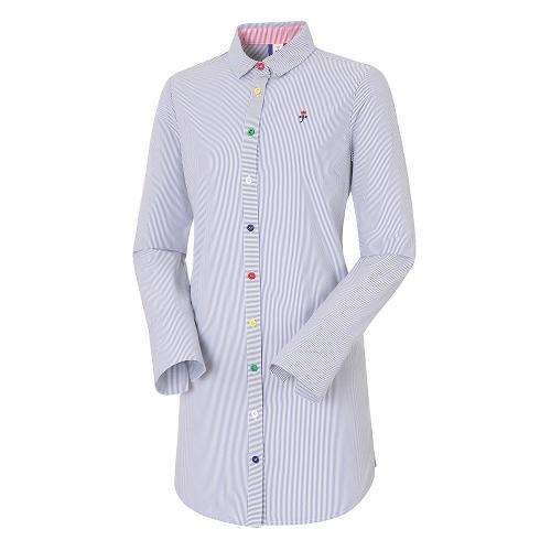 여성 자수 아트웍 셔츠_BG9SSH501RL