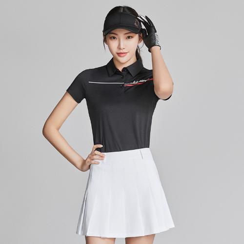 [와이드앵글] 여성 ONEX_캘리그라피 반팔 티셔츠 L WWM21291Z1