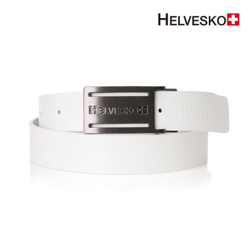헬베스코 로고 소가죽 벨트 - HOAMBT003