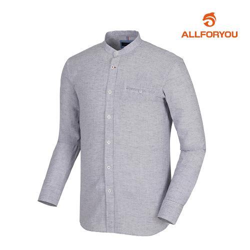 [올포유]남성 줄무늬 차이나넥셔츠 AMBSI1R55-915_G