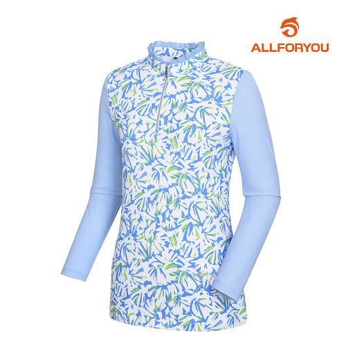 [올포유]여성 스포츠 반집업 티셔츠 AWTHJ5108-920_G
