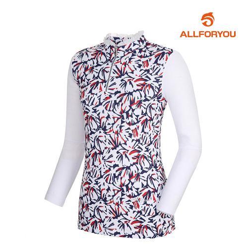 [올포유]여성 스포츠 반집업 티셔츠 AWTHJ5108-915_G