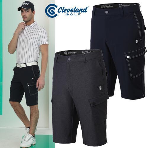 [클리브랜드골프] 포인트 스티치 E-BAND 남성 골프 반바지/골프웨어_CGKMPT038x
