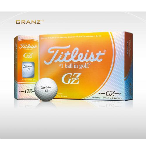 타이틀리스트 GranZ 프리미엄 펄 골프볼 12구(3피스) 직수입