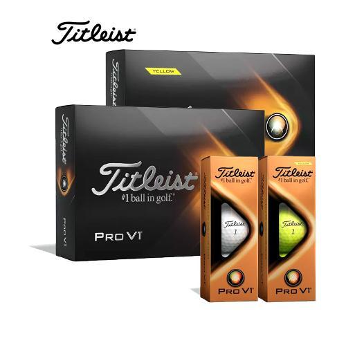 타이틀리스트 정품 2021 PRO V1 골프볼 골프공 3피스(12구)