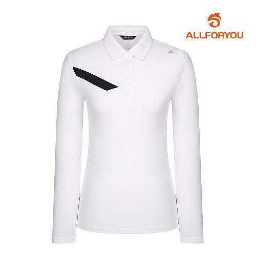 [올포유]여성 원포인트 카라 티셔츠 AWTYJ5113-100_G