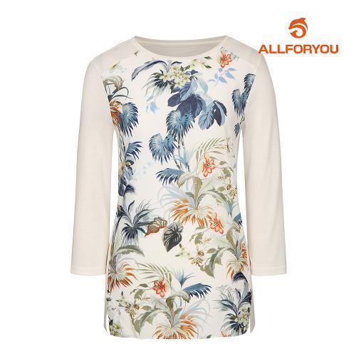 [올포유]여성 앞판 프린트 티셔츠 AWTRJ5157-102_G