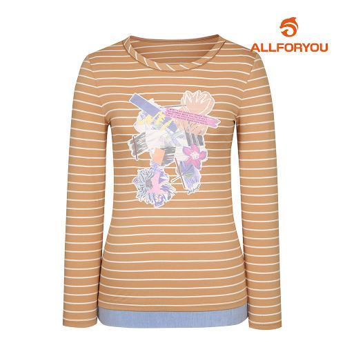 [올포유]여성 스트라이프 티셔츠 AWTRJ5154-509_G
