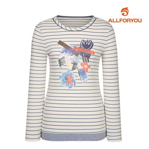 [올포유]여성 스트라이프 티셔츠 AWTRJ5154-102_G
