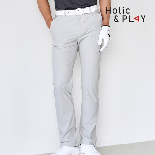 홀릭앤플레이 남성 매직밴딩 골프바지 HA2MPT003GY