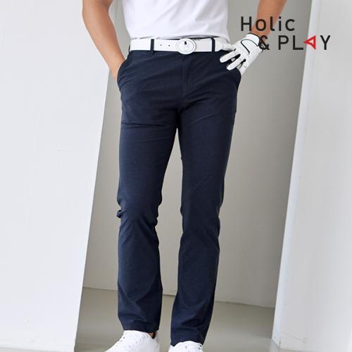홀릭앤플레이 남성 매직밴딩 골프바지 HA2MPT002NY