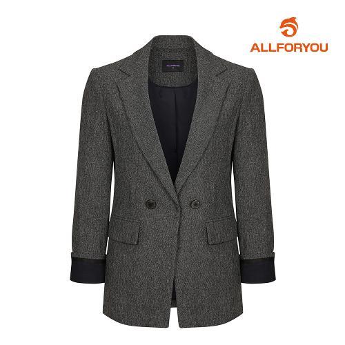 [올포유]여성 단추 포인트 심플 자켓 AWKKI5463-192_G