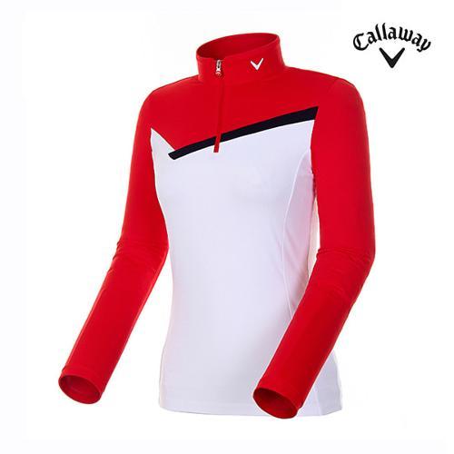[캘러웨이]여성 컬러 블록 스포티 티셔츠 CWTHH7101-500_G