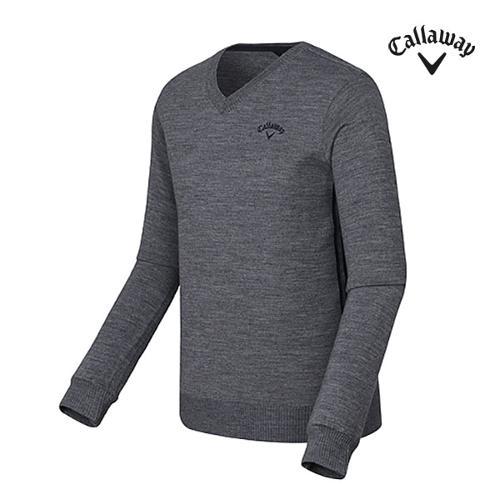 [캘러웨이]남성 베이직 브이넥 스웨터 CMSRF3201-193_G