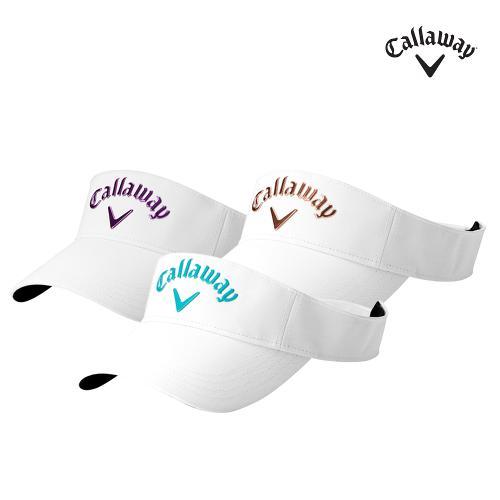 캘러웨이정품 리퀴드메탈바이저 여성용 썬캡