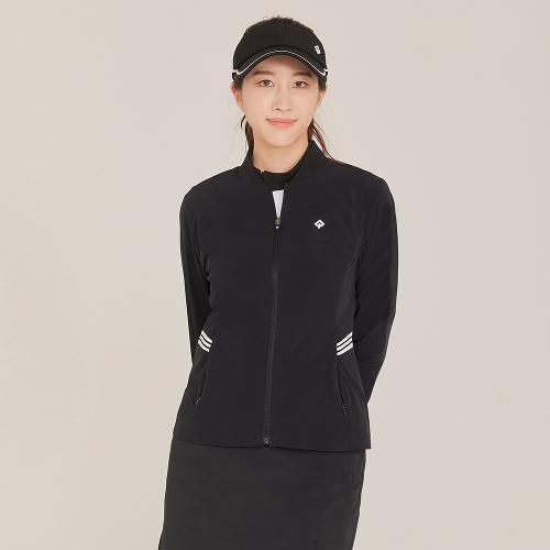 [레노마골프]21SS 여성 솔리드 배색 포인트 점퍼 RWJUK5351-199_G