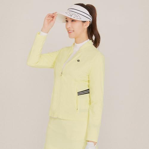 [레노마골프]21SS 여성 솔리드 배색 포인트 점퍼 RWJUK5351-210_G