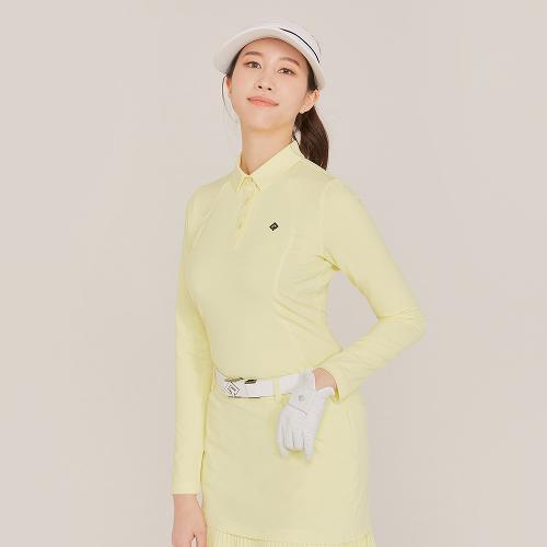 [레노마골프]21SS 여성 S라인 절개 카라 긴팔 티셔츠 RWTYK5155-210_G