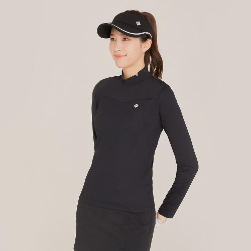 [레노마골프]21SS 여성 골지 패치 베이스레이어 티셔츠 RWTHK5101-199_G