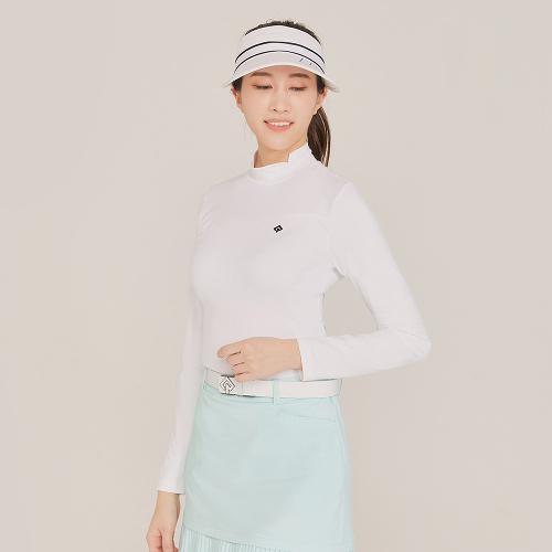 [레노마골프]21SS 여성 골지 패치 베이스레이어 티셔츠 RWTHK5101-101_G