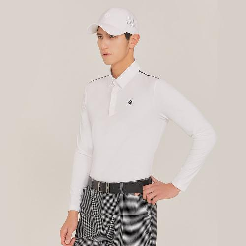 [레노마골프]21SS 남성 어깨 포인트 카라 티셔츠 RMTYK1151-101_G