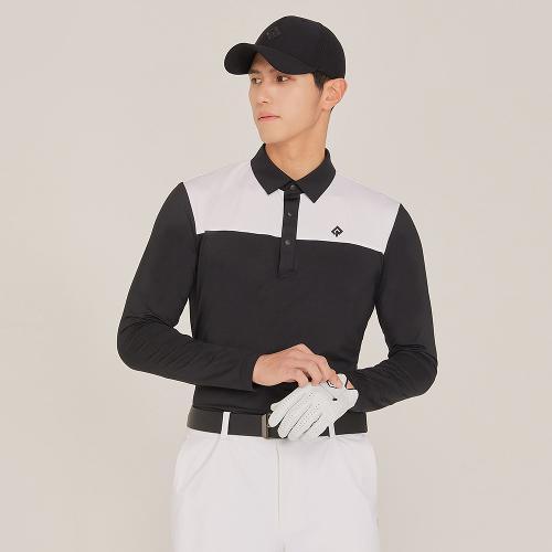 [레노마골프]21SS 남성 반전 배색 카라 티셔츠 RMTYK1104-199_G