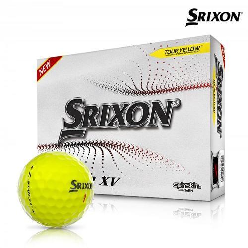 스릭슨 제트스타7 XV 골프공 4피스 12알 옐로우볼