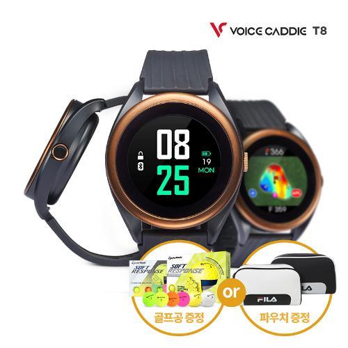 [사은품증정 2종택1/보이스캐디정품] 21년 T8 시계형 골프 거리측정기