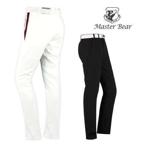 마스터베어 히든밴드 투어핏 스윙 골프바지 MS1MV092