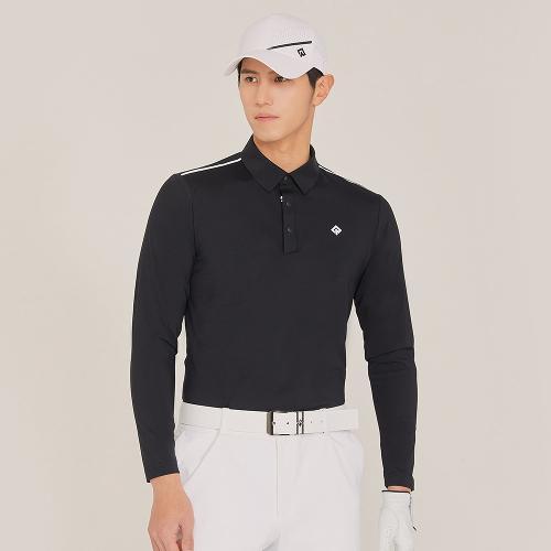 [레노마골프]21SS 남성 어깨 포인트 카라 티셔츠 RMTYK1151-199_G