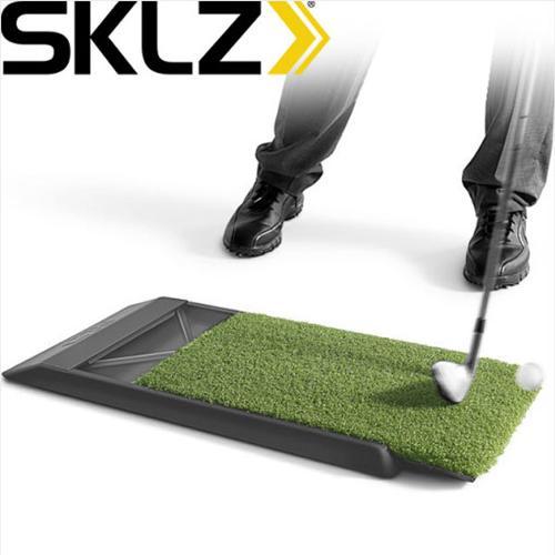 스킬즈 글라이드 패드 골프 스윙 매트 연습 Glide Pad