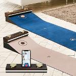 루키루키 인테리어 럭셔리 골프 퍼팅매트 퍼팅연습기 5cm 두께 100% 리얼 원목사용