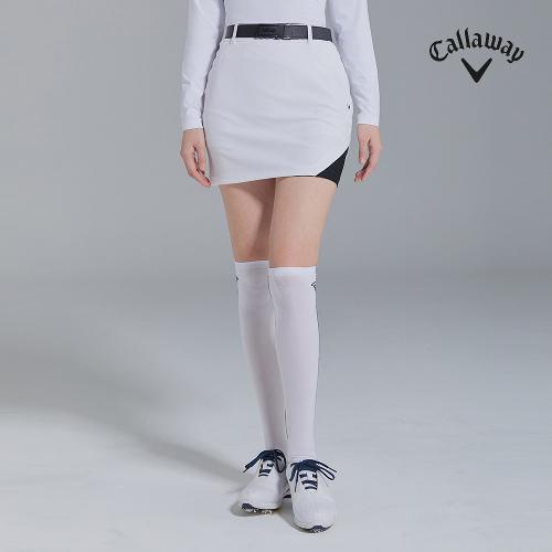 [캘러웨이]21SS 여성 이밴드 포인트 배색 큐롯 CWPCK5187-100_G