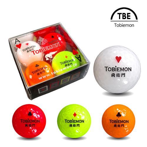 토비에몬 2피스 트럼프볼 4색 4구 1세트 (TBE-4C)