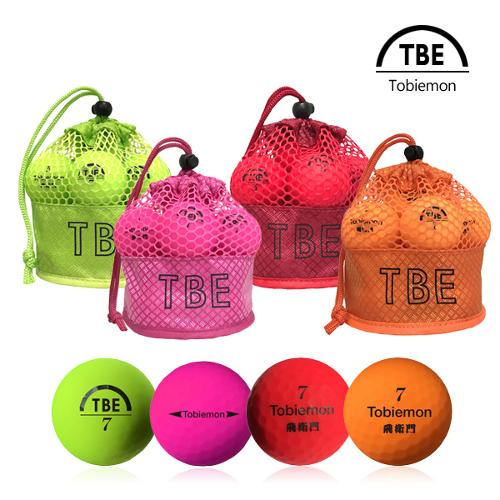 토비에몬 2피스 무광/형광 컬러 주머니볼 12구(TBE-M)