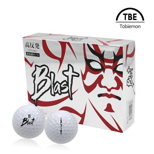토비에몬 2피스 BLAST 골프공/골프볼 1더즌 (TBE-BLA)