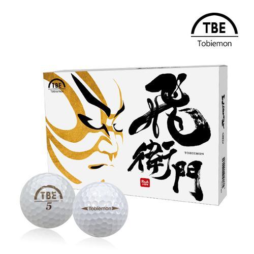 토비에몬 2피스 PEARL 골프공/골프볼 1더즌 (TBE-PEA)