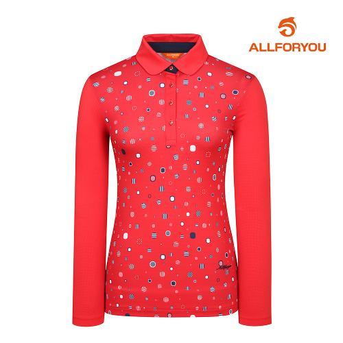 [올포유]여성 포인트 카라 티셔츠 AWTYI5110-500_G