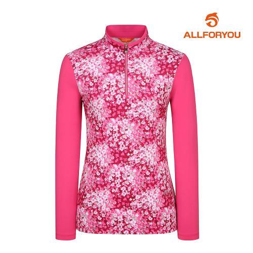 [올포유]여성 패턴 반집업 티셔츠 AWTHI5111-403_G