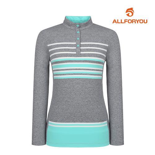 [올포유]21SS 여성 줄무늬 티셔츠 AWTHK2161-190_G