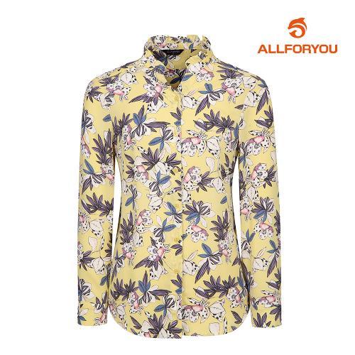 [올포유]여성 패턴 넥프릴 블라우스 AWBLI5652-203_G