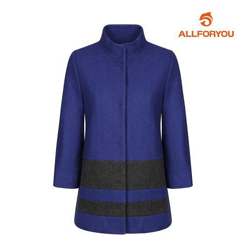 [올포유]여성 모혼방 컬러 블록 코트 AWCTH5R53-906_G