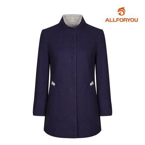 [올포유]여성 모혼방 포인트 코트 AWCTH5451-915_G