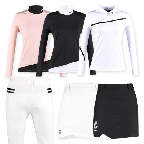 미우골프 여성 이너웨어 셔츠 골프바지 큐롯스커트 모음